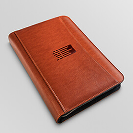 Picture of a closed Mindware Agenda Planner