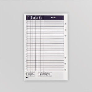 Picture of an Item Listing Page belonging to the Mindware Agenda Planner