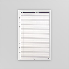 Picture of a Note Page belonging to the Mindware Agenda Planner